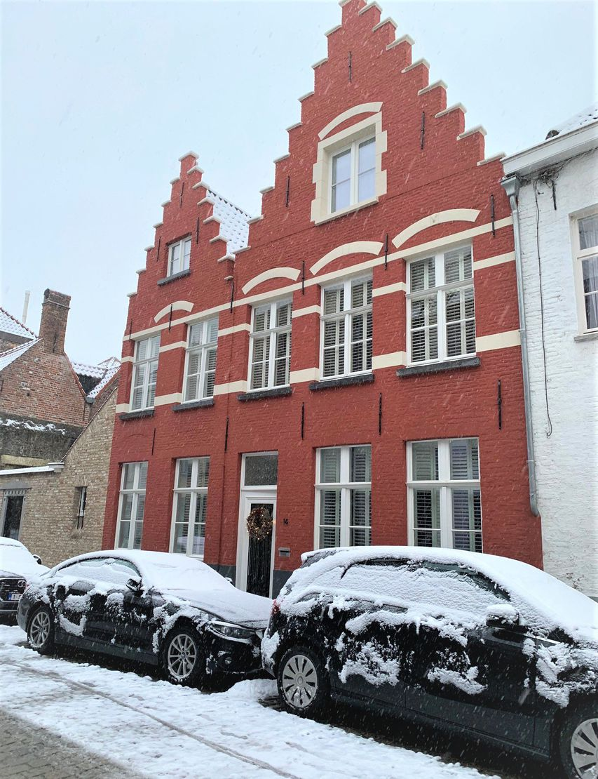 Holiday house Diephuys 14 in the snow